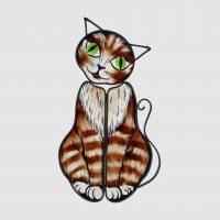 A78 Katze gestreift, ca.16x28 cm