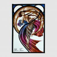 Der Tanz,nach Mucha ca.23,5x36 cm