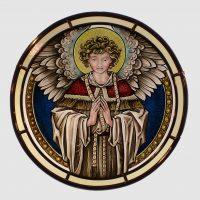 Engel betend rund