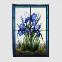 Fenster-Iris ca. 35x 45 cm  195,-€