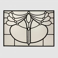 Fenster art deco