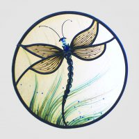 Libelle rund ca.30cm