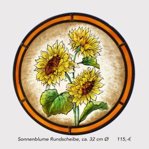 Rundbild Sonnenblume