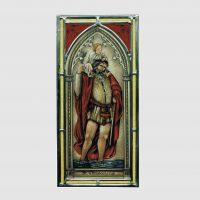 St.Christopherus Gotic ca.19 x 39 cm