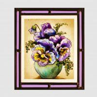 Stiefmütterchen violett