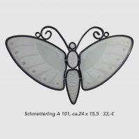 Schmetterling A101 weiß