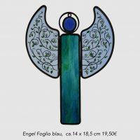 Engel Foglio blau 14 x 18,5 cm 19,50 €