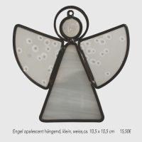 Engel opalescent klein, weiß