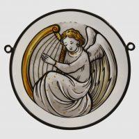 Engel rund Harfe 14 cm 26,50€
