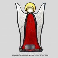 Engel steh.mittel rot 14 x 23cm 39,50€